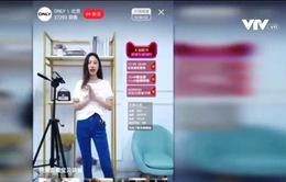 Livestream để bán hàng khuấy động thị trường TMĐT Trung Quốc