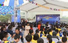 Tăng cường sử dụng tiếng Anh cho học sinh phổ thông