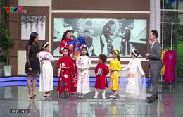 Hoa hậu Ngọc Hân hướng dẫn cách chọn áo dài cho bé ngày Tết