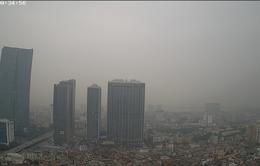 Ngày đầu tuần, chất lượng không khí Hà Nội ở mức xấu