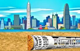 Chiêm ngưỡng hầm cao tốc dài hơn 10km nằm dưới lòng hồ ở Trung Quốc