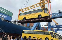 Xe bus thương hiệu Việt lần đầu tiên được xuất khẩu