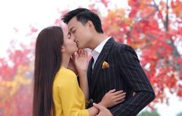 """Diễn cảnh hôn trong phim ca nhạc """"Mong manh em"""", Phạm Phương Thảo phấn chấn, Tiến Lộc """"lạnh lùng"""""""