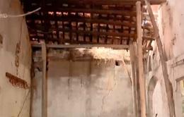Khu đền xuống cấp nhưng không thể sửa chữa