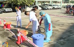 Diễn tập phòng chống dịch cúm từ vùng Trung Đông
