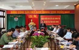 Phó Thủ tướng Vương Đình Huệ làm việc tại Đắk Nông