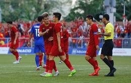 VIDEO Highlights hiệp 1: U22 Việt Nam 1-2 U22 Thái Lan (Bảng B môn bóng đá nam SEA Games 30)