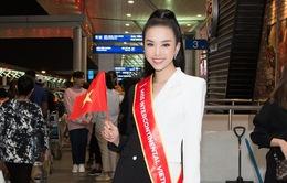Á hậu Thuý An lên đường sang Ai Cập dự thi Miss Intercontinental