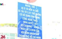 TP.HCM: Cắm biển báo cấm dừng đỗ trên các tuyến đường cho đậu xe có thu phí