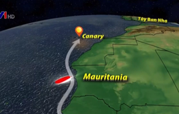 58 người di cư thiệt mạng vì lật thuyền ở ngoài khơi Mauritania