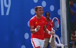 Thắng chung kết nội bộ, Lý Hoàng Nam giành HCV SEA Games lịch sử cho quần vợt Việt Nam