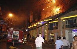 Cháy khách sạn ở Thái Lan, 400 khách du lịch phải sơ tán