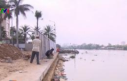 Tháo dỡ một số công trình vi phạm ven sông Sài Gòn