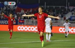 VIDEO Highlights Hiệp 1: U22 Việt Nam 3-0 U22 Campuchia (Bán kết môn bóng đá nam SEA Games 30)