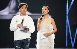Ngay sau đám cưới, Hoàng Oanh tất bật làm MC Chung kết Hoa hậu Hoàn vũ Việt Nam 2019
