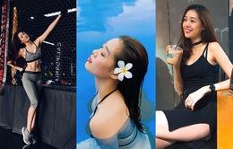 Nhan sắc đời thường của tân Hoa hậu Hoàn vũ Việt Nam Nguyễn Trần Khánh Vân