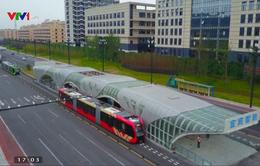 Trung Quốc khai trương hệ thống tàu điện thông minh