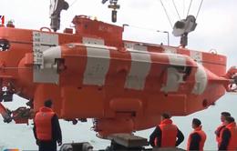 Hải quân Việt Nam và Nga luyện tập công tác cứu hộ tàu ngầm