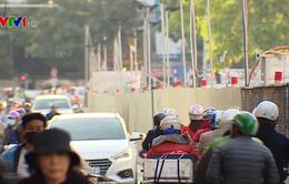 Bất chấp nguy cơ mất an toàn, nhiều xe vẫn ngang nhiên đi ngược chiều
