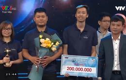 CyHome giành ngôi quán quân Khởi nghiệp công nghệ mùa đầu tiên