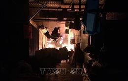 Cháy lớn tại chợ Đông Ngô Quyền, Hải Dương