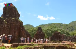 Chuyên gia Ấn Độ hỗ trợ trùng tu nhiều đền, tháp ở Mỹ Sơn