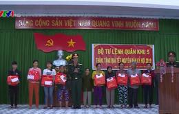 Bộ Tư lệnh Quân khu 5 trao hơn 90.000 suất quà Tết cho người nghèo