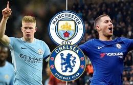 Lịch trực tiếp bóng đá hôm nay (10/2): Man City đụng độ Chelsea