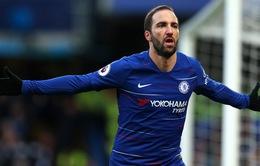 "Higuain bất ngờ ""sụt xịt"", Chelsea lo sốt vó"