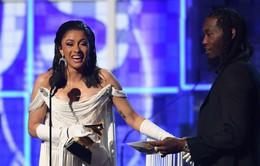 Bị chỉ trích sau chiến thắng Grammy, Cardi B xóa tài khoản xã hội