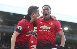 Cận cảnh cú nước rút ngoạn mục vào top 4 Ngoại hạng Anh của Man Utd