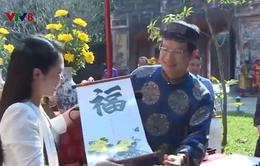 Đại Nội Huế tổ chức lễ hạ nêu, khai ấn tân niên và tặng chữ chúc xuân