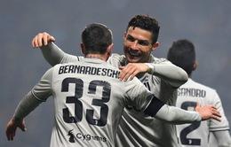 Ronaldo toả sáng, Juventus giành thắng lợi quan trọng trên sân Sassuolo