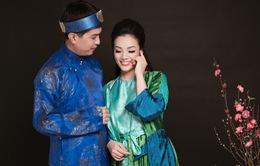 """Tân Nhàn mời chồng làm liền anh trong MV hát quan họ """"Tương phùng tương ngộ"""""""