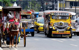 Nhọc nhằn nghề lái xe Jeepney ở Philippines