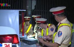 Liên tục phát hiện lái xe đầu kéo dương tính với ma túy ở Bà Rịa - Vũng Tàu