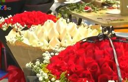 Trung Quốc: Giá hoa dịp Valentine tăng cao