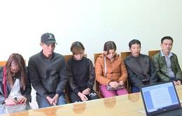 Bắt 6 người vượt biên trái phép tại Quảng Ninh