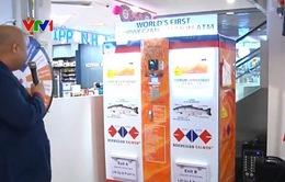 Singapore khai trương máy bán cá hồi tự động