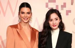 Dương Mịch - Kendall Jenner đọ sắc chung một khung hình