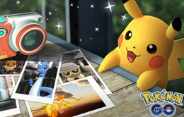 Pokémon GO cập nhật chế độ chụp ảnh Pokémon