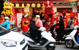 """Ngày vía Thần tài, """"phố vàng"""" tại Hà Nội đông vui như trẩy hội"""