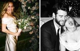 Miley Cyrus hé lộ những hình ảnh chưa từng công bố trong đám cưới
