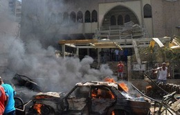 Đánh bom nhằm vào cảnh sát Ấn Độ