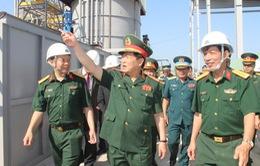 Bộ trưởng Bộ Quốc phòng chủ trì buổi làm việc về xử lý chất độc hóa học/dioxin tại sân bay Biên Hòa