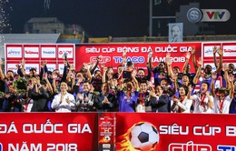 ẢNH: CLB Hà Nội giành Siêu cúp Quốc gia nhờ cú đúp của Hoàng Vũ Samson