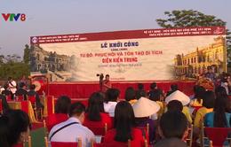 Thừa Thiên Huế: Khởi công dự án tu bổ, phục hồi di tích điện Kiến Trung