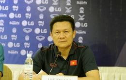 """HLV U22 Việt Nam Nguyễn Quốc Tuấn: """"Chúng tôi sẽ tập trung cao độ để giành chiến thắng"""""""