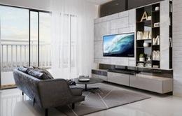 Thiết kế không gian phòng khách sang trọng