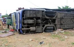 Xe khách giường nằm bị lật ở Nha Trang thiếu an toàn kỹ thuật